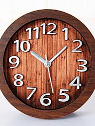 счастливые подарки высокого качества mitation цвет древесины ретро Европейский стиль деревянные часы