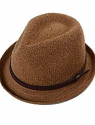 Unisex Sombrero Fedora Vintage / Casual-Todas las Temporadas-Algodón