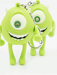 Monster University One - Eyed Monster Cartoon Keychain Personality LED