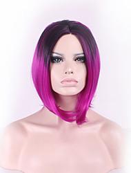 courte harajuku ombre perruque perruques synthétiques pelo perruques de cosplay anime synthétique résistant à la chaleur perruques de