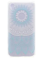 Pour Coque Sony / Xperia X Transparente / Motif Coque Coque Arrière Coque Fleur Flexible TPU Sony Sony Xperia X