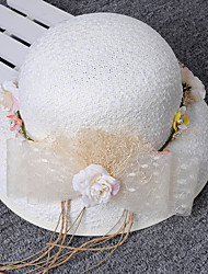 New style fair maiden Simple Bowknot Flower Hat