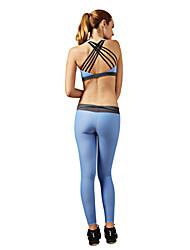 Yoga Chándal / Sets de Prendas/Trajes Transpirable / Secado rápido / Compresión / Cómodo Alta elasticidad Ropa deportiva Mujer-Deportes,