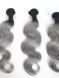 Body Wave Human Hair Weaves Ombre Hair Extension
