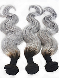 Body Wave Colorful Hair Weaves Indian Virgin Hair Weaves