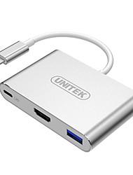 Кабель конвертер UNITEK HD HDMI Тип-C для HDMI USB3.0/2.0 тип-c