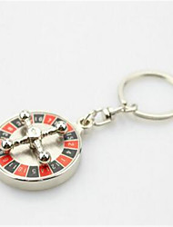 Rotary Key Chain Car Couple Key Ring
