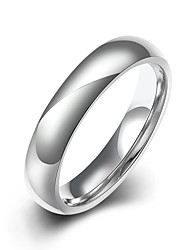 Ring Stainless Steel Simple Style Fashion Silver Jewelry Party Halloween Daily Casual Sports 1pc