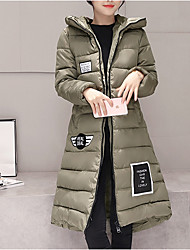 8902 Sign new winter long section of thick cotton padded women big yards Slim tide coat bread service