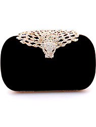 Women Velvet Formal / Event/Party / Wedding Evening Bag/Velvet Diamonds Bag/Purse/Clutch/Leopard/Handbags
