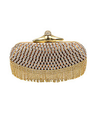 Women Diamonds Tassel Clutch/Formal / Event/Party / Wedding Evening Bag/Purse/Handbags/Eveningbags/Glass/Stone/Tassel