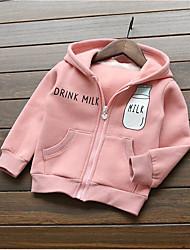 Pull & Cardigan / Pull à capuche & Sweatshirt Boy Couleur Pleine Décontracté / Quotidien Coton Printemps / AutomneBleu / Vert / Rose /