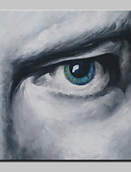 Hand Painted Eyes Oil Painting On Canvas Modern Wall Art Picture For Living Room Home Decoration With Stretched Frame Ready To Hang