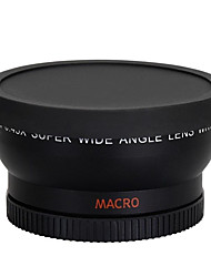 58MM 0.45x Wide Angle Lens  Macro Lens for Cannon 350D/ 400D/ 450D/ 500D/ 1000D/ 550D/ 600D/ 1100D DSLR Camera