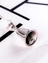 das mulheres colar de pingente de colares de jóias de casamento / festa / moda casual / prata esterlina adorável