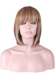 les femmes de la mode courte bobo cheveux perruques de cheveux disposent perruques matériel pour les femmes de style représentées