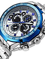 WWOOR Мужской Спортивные часы Нарядные часы Модные часы Наручные часы Механические часы Защита от влаги Панк ФосфоресцирующийС