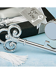 Wedding Party Party Favors & Gifts-1Piece/Set Gifts Tassels Metal Cuboid Non-personalised Silver