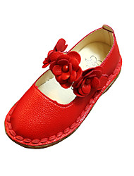 Girl's Flats Spring / Summer / Fall Mary Jane / Comfort / Ballerina Leatherette Wedding / Party & Evening / Dress / Casual Flat Heel