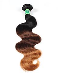 Tónované Brazilské vlasy Vlnité 6 měsíců Jeden díl Vazby na vlasy