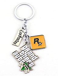 Grand Theft Auto Key Ring Auto Parts Pendant