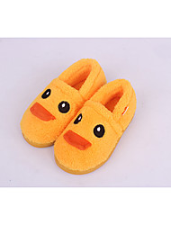 Girl's Loafers & Slip-Ons Others Fleece Casual Black Yellow Red