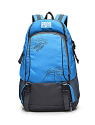 Unisex Canvas Sports / Outdoor Backpack Blue / Green / Yellow / Red / Black