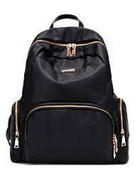 Women Oxford Cloth Casual School Bag Purple / Blue / Black