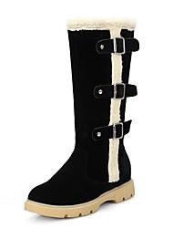 Feminino-Botas-Plataforma / Coturno / Inovador / Botas de Cowboy / Botas de Neve / Botas Cano Curto / Botas Montaria / Botas da Moda /