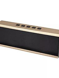 JKR X6 metal MiNi Portable Bluetooth Speaker Handsfree support audio input / TF card / Smartphone