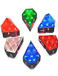Lampe Arrière de Vélo LED - Cyclisme Rechargeable 300 Lumens Chargeur Voiture Bleu / Rouge / Vert / Blanc chaud Cyclisme-Eclairage