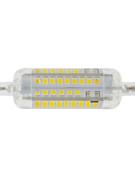 7W R7S Bombillas LED de Mazorca T 60 SMD 2835 800 lm Blanco Cálido / Blanco Fresco Decorativa / Impermeable V 1 pieza