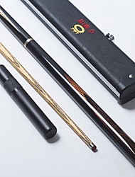 Omin Sky Dream Snooker Cue Professional 3/4 Black Ebony Butt Ash shaft Handmade Billiard