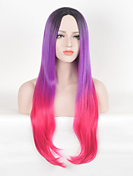 High Quality Synthetic Wigs For Black Women Cosplay Ombre Wig Long Straight Wigs