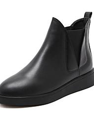 Черный-Женский-На каждый день-МикроволокноOthers-Ботинки