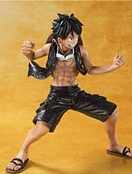 One Piece Monkey D. Luffy PVC 8cm Figures Anime Action Jouets modèle Doll Toy