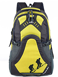 Unisex Canvas Sports / Outdoor Backpack Blue / Yellow / Red / Black