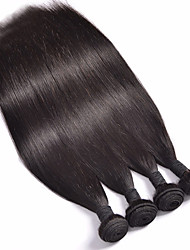 8A Top Grade Brazilian Virgin Hair Free Shipping Silk Straight Hair Extension 4pcs/lpot Can Be Colored