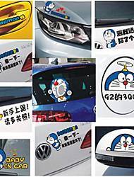 carro lateral adesivos corpo porta adesivos desenhos animados bonitos engraçados