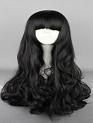 Anime Rwby Blake Belladonna Black 70cm Long Wavy High Quality Synthetic Fashion  Women Cosplay Wig
