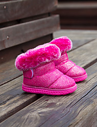 Girl's Boots Others PU Casual Pink / White