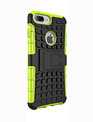 For iPhone 7 Plus Soft Case Football Lines Protective Cover with Kickstand for iPhone 6s 6 Plus SE 5s 5