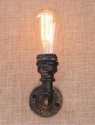 AC 220V-240V 40w e27 bg817 saudade tubulação de água simples luz decorativos de parede lâmpada de parede pequeno