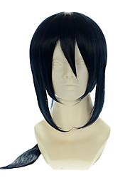 K yatogami kuroh специальный смешанный чернила синий Хэллоуин парики синтетические парики Карнавальные парики