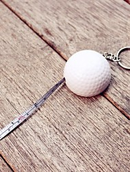 1pcs LPGA Golf Ball tape measure keychain Party Keepsakes
