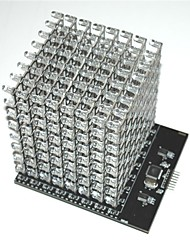 8X8X8 RGB LED Cube Shield