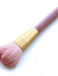 1 Pincel para Pó Escova de Cabelo de Cabra Profissional / Portátil Madeira Rosto Outros
