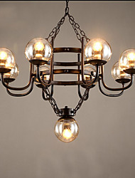 40W Pendant Light ,  Traditional/Classic Electroplated Feature for Mini Style MetalLiving Room / Bedroom / Dining Room / Study
