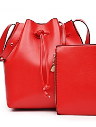 Для женщин Полиуретан Для торжеств и мероприятий / На каждый день Сумка на плечо / Ковш сумки