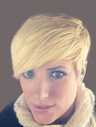 естественная волна короткие волосы парики человеческих для женщины